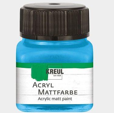 ACRYLIC MATT FARBE  20ML - Фин акрил и за маникюр SKY BLUE