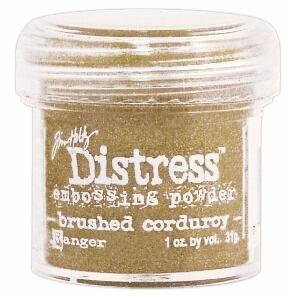 `Distress` Ембос Пудра  - Brushed Corduroy