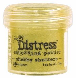 `Distress` Ембос Пудра  - Shabby Shutters