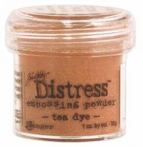 `Distress` Ембос Пудра  - Tea Dye