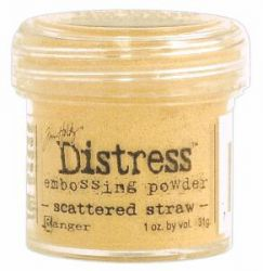 `Distress` Ембос Пудра  - Scattered Straw