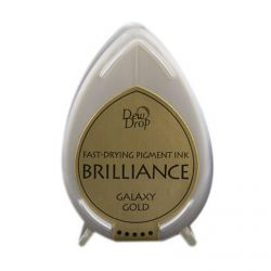 BRILLIANCE DewDrop Pigmet Ink, Japan - Galaxy Gold