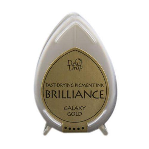 BRILLIANCE DewDrop Pigmet Ink, Japan - Galaxy Gold