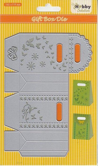 "BOX HSDJ039 Hobby Solution Dies ""gift-box"" (165x119mm) - ЩАНЦА"