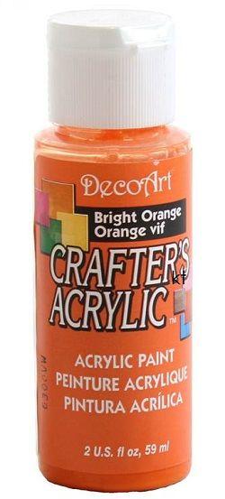 CRAFTERS ACRYLIC USA 59 ml - Bright Orange