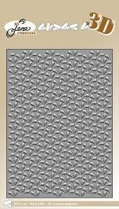 3D-embossing folder DROPS 105x148mm- 3D Ембос папка