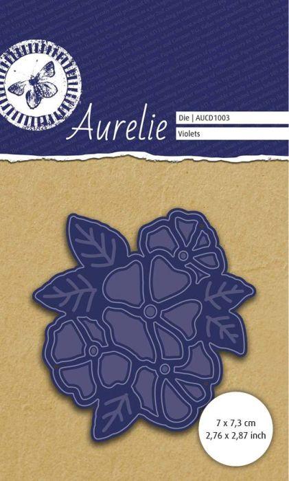 AURELIE FLOWER Die  - Фигурална щанца за рязане и релеф