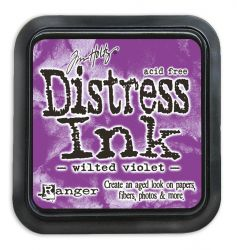"NEW Distress ink pad by Tim Holtz - Тампон, ""Дистрес"" техника - Wilted Violet"