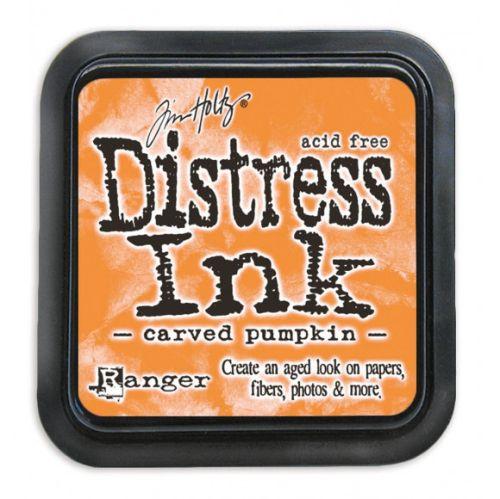 "NEW Distress ink pad by Tim Holtz - Тампон, ""Дистрес"" техника - Carved Pumpkin"