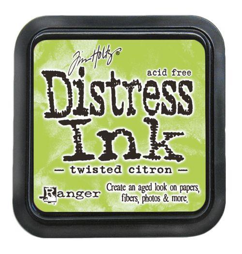 "NEW Distress ink pad by Tim Holtz - Тампон, ""Дистрес"" техника - Twisted Citron"