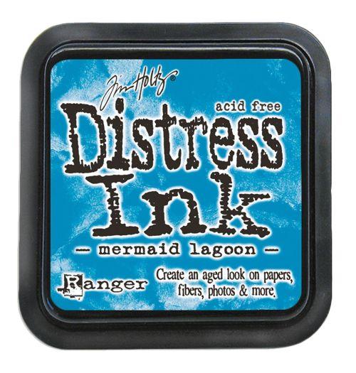 "NEW Distress ink pad by Tim Holtz - Тампон, ""Дистрес"" техника - Mermaid Lagoon"