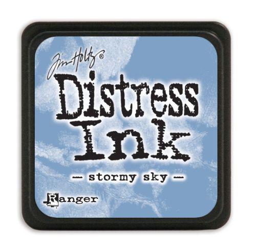 "NEW MINI Distress ink pad by Tim Holtz - Тампон, ""Дистрес"" техника - Stormy sky"