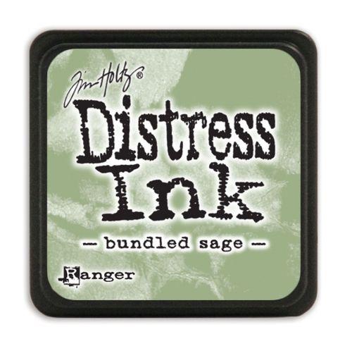 "NEW MINI Distress ink pad by Tim Holtz - Тампон, ""Дистрес"" техника - Bundled sage"
