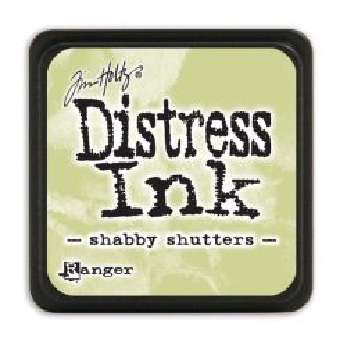 "NEW MINI Distress ink pad by Tim Holtz - Тампон, ""Дистрес"" техника - Shabby shutters"