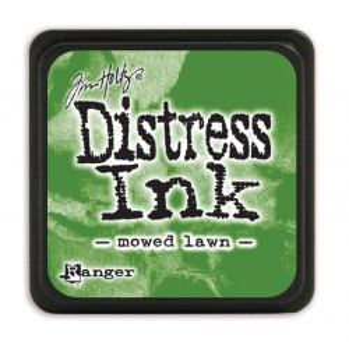"NEW MINI Distress ink pad by Tim Holtz - Тампон, ""Дистрес"" техника - Mowed lawn"
