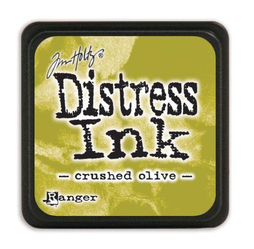 "NEW MINI Distress ink pad by Tim Holtz - Тампон, ""Дистрес"" техника - Crushed olive"