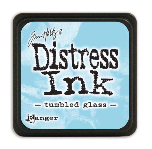 "NEW MINI Distress ink pad by Tim Holtz - Тампон, ""Дистрес"" техника - Tumbled glass"