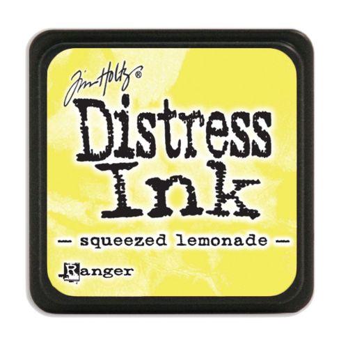 "NEW MINI Distress ink pad by Tim Holtz - Тампон, ""Дистрес"" техника - Squeezed lemonade"