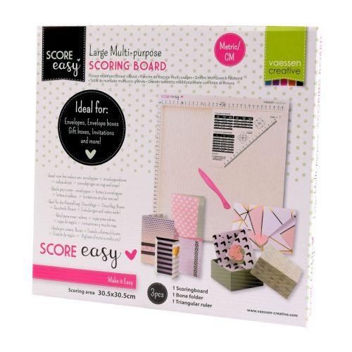 CREATIVE SCORING BOARD XL (30,5x30,5 cm) – ГОЛЯМ Крафт борд за биговане / изработка на пликове,кутии