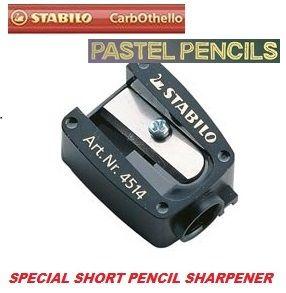 # STABILO SHARPENER - Специална къса острилка за пастелни и козметични моливи