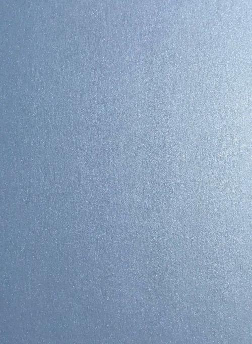 PEARL A4 - Двустранен перла-металик картон 285гр # 10бр. КОБАЛТ СИНЬО