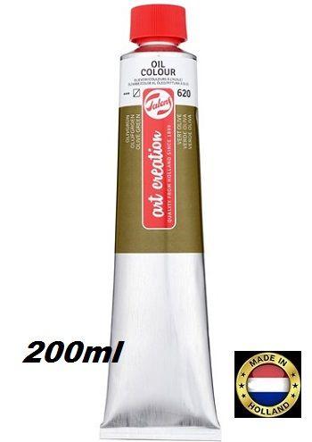 TALENS  OIL 200ml OLIVE GREEN - Фини маслени бои 620 ОЛИВНА ЗЕЛЕНА