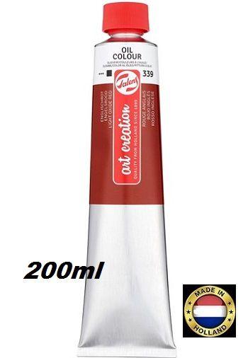 TALENS  OIL 200ml LT OXIDE RED - Фини маслени бои 339 ОКСИДНА ЧЕРВЕНА СВЕТЛА