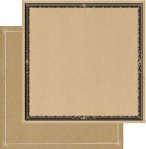 AUTHENTIQUE USA # ACCOMPLIESHED - Двустранен дизайнерски картон 30,5 х 30,5 см.