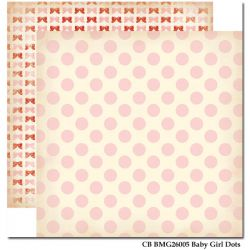 CARTA BELLA USA # BABY MINE - Дизайнерски скрапбукинг картон 30,5 х 30,5 см.