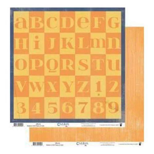 FANCY PANTS USA # CHILDISH - Дизайнерски двустранен скрапбукинг картон 30,5 х 30,5 см.