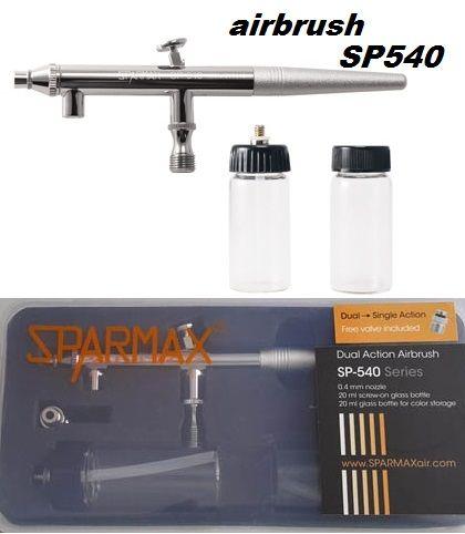 SPARMAX SP540 -  Еърбраш с дюза 0.4