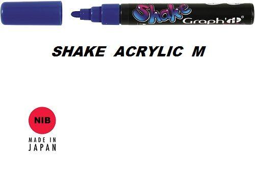 SHAKE ACRYLIC MARKER М -  Акрилен PERMANENT маркер VIOLET