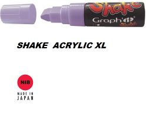 SHAKE ACRYLIC MARKER XL -  Акрилен PERMANENT маркер LILAC