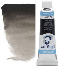 VAN GOGH WATERCOLOUR - Екстра фин акварел 10мл #  Ivory black 701
