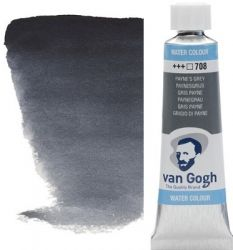VAN GOGH WATERCOLOUR - Екстра фин акварел 10мл #  Payne`s grey 708