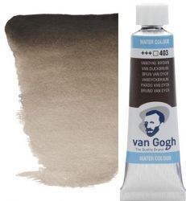 VAN GOGH WATERCOLOUR - Eкстра фин акварел 10ml #  Vandyke brown 403