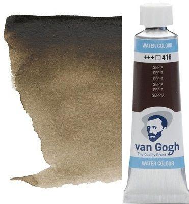 VAN GOGH WATERCOLOUR - Екстра фин акварел 10мл #  Sepia 416