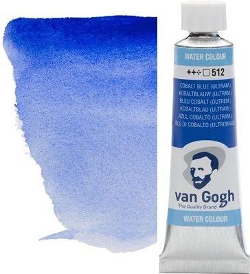 VAN GOGH WATERCOLOUR - Екстра фин акварел 10мл # Cobalt blue ultram. 512