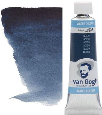 VAN GOGH WATERCOLOUR - Екстра фин акварел 10мл # Indigo 533