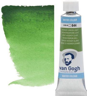 VAN GOGH WATERCOLOUR - Екстра фин акварел 10мл # Hooker green light 644