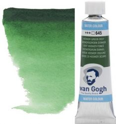 VAN GOGH WATERCOLOUR - Екстра фин акварел 10мл # Hooker green deep 645