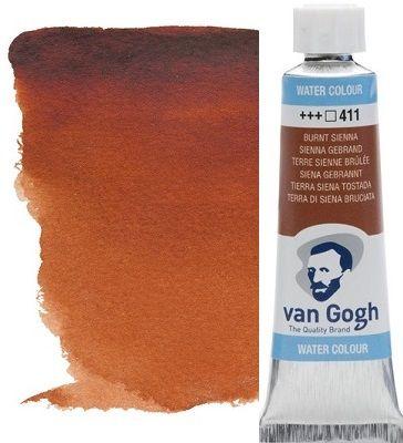 VAN GOGH WATERCOLOUR - Екстра фин акварел 10мл # Burnt sienna 411