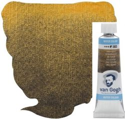 VAN GOGH WATERCOLOUR - Екстра фин акварел 10мл # DEEP GOLD METALLIC