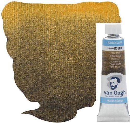 VAN GOGH WATERCOLOUR - Екстра фин акварел 10мл # DEEP GOLD METALLIC