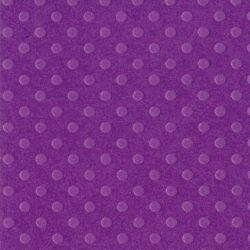 BBP, USA Embossed Dot 30.5x30.5см - PLUM PUDDING