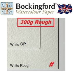 BOCKINGFORD 300g ROUGH 56 X 76 cm. - АКВАРЕЛЕН КАРТОН # Made in England