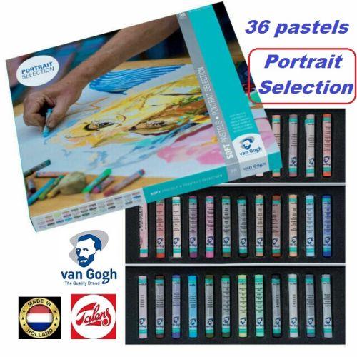 # Van GOGH SOFT PASTELS 36 - Екстра фин ПАСТЕЛ 36цв. Портретна гама