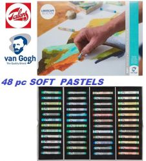 # Van GOGH SOFT PASTELS 48 - Екстра фин ПАСТЕЛ 48цв. Пейзажна гама