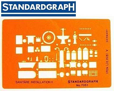 STANDARDGRAPH ARCHITECT SANITARE INSTALLATION II  , model 7351