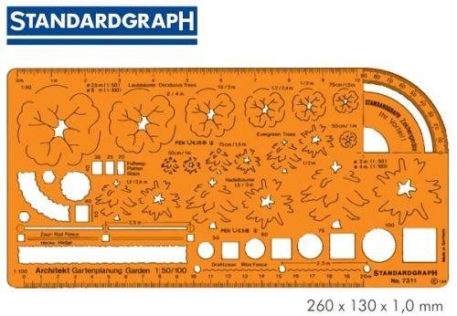 STANDARDGRAPH ARCHITECTS  GARDEN PLANNING 1:50 / 1:100 , model 7311